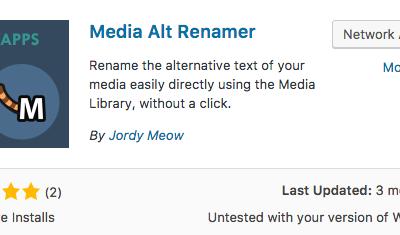 Media Alt Renamer