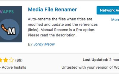 Media Renamer – Plugin